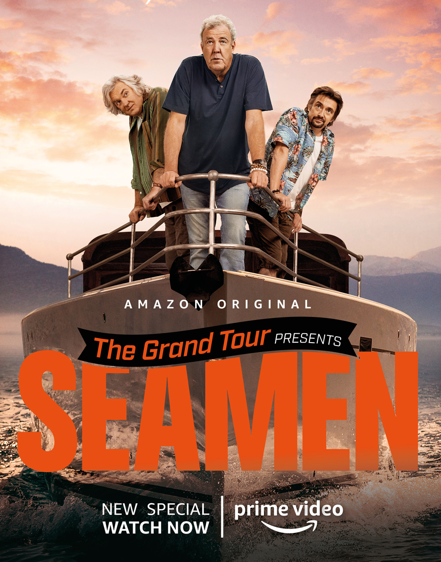 Jeremy Clarkson key art Amazon Prime / Grand Tour