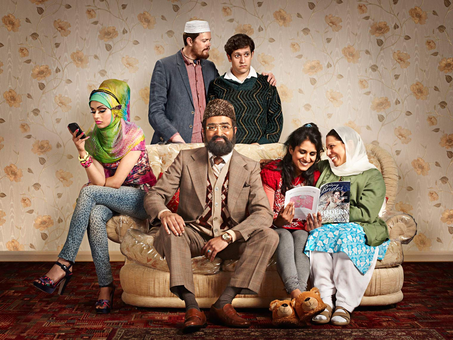 Citizen Khan Celebrity  Portrait Music Advertising Theatre Poster Old Vic BAFTA Trafalgar Photographer