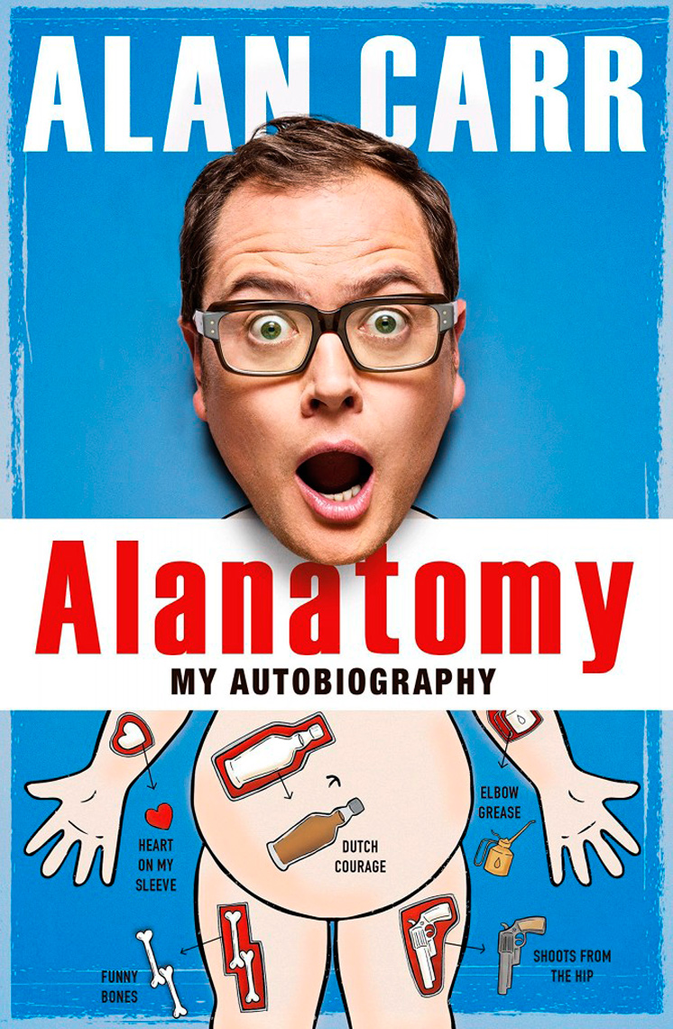 Alan Carr Alanatomy book cover