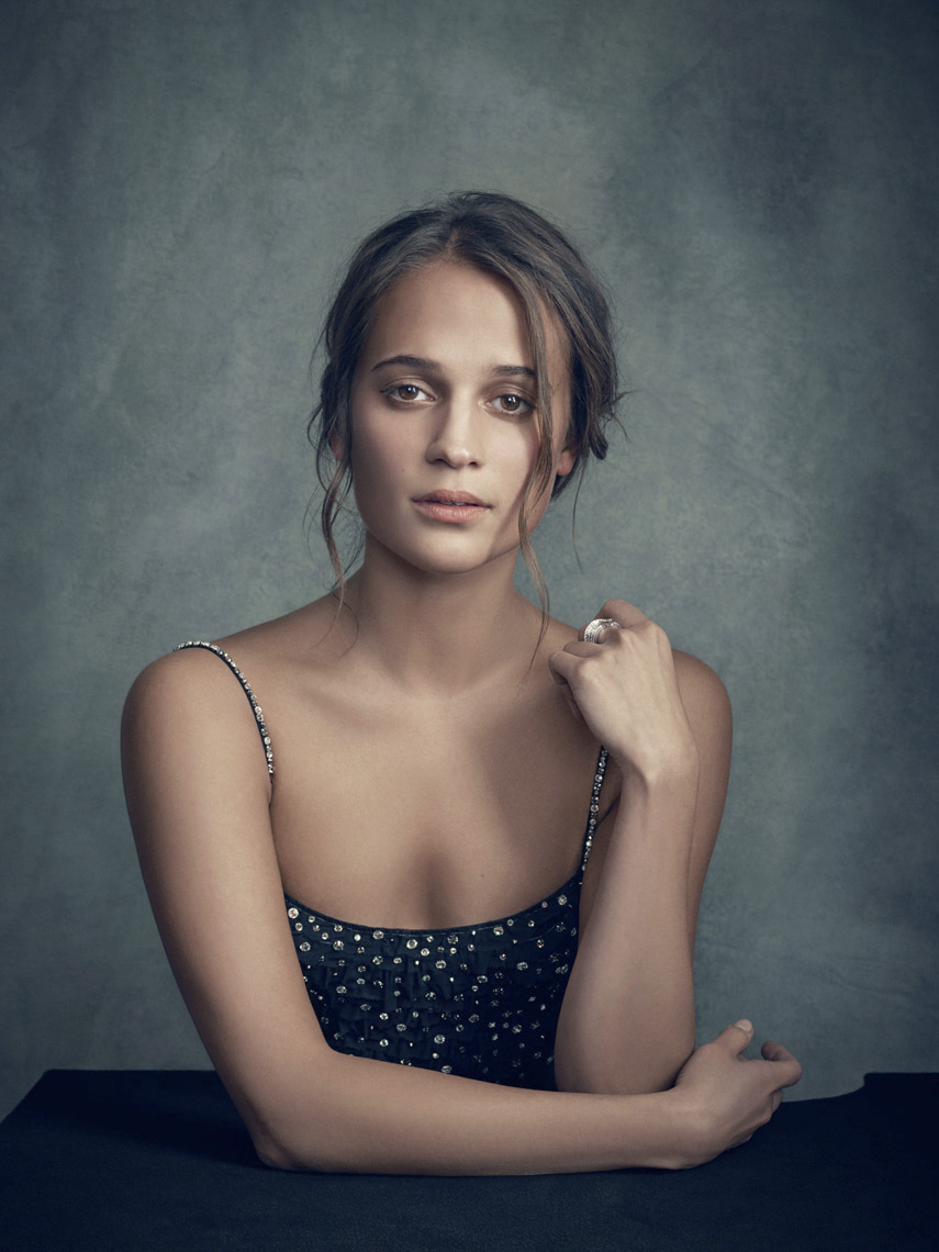 Alicia Vikander Photographed at BIFA Awards
