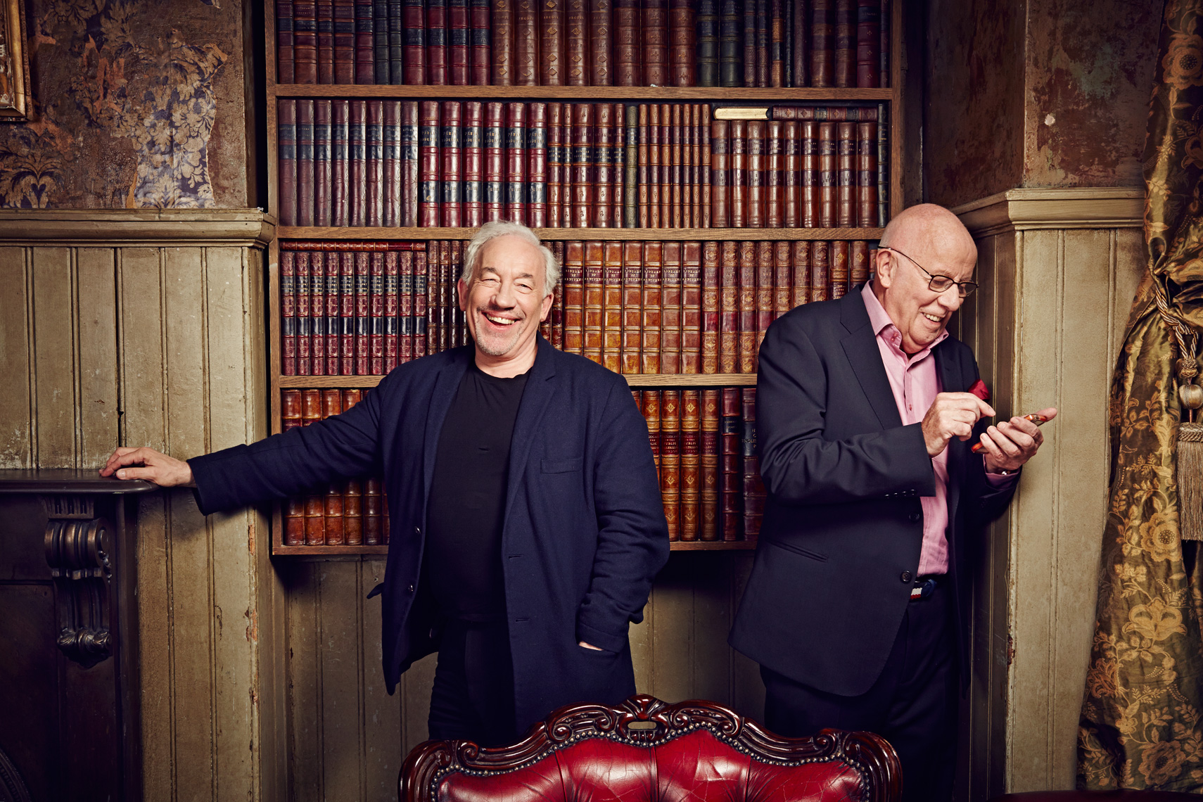 Simon Callow & Richard Wilson