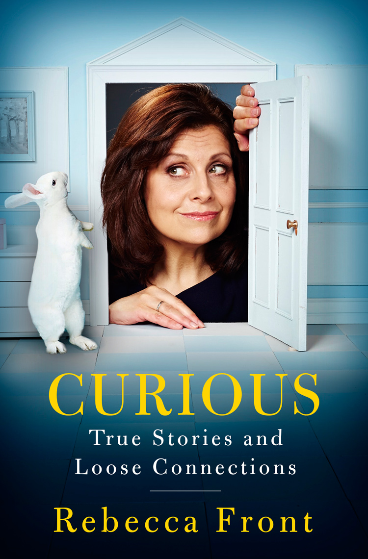 Curious house Rebecca Front book cover