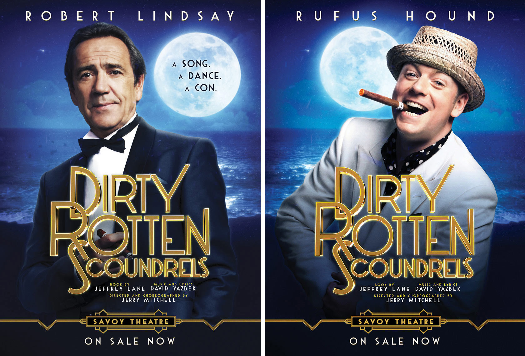 Dirty Rotten Scoundrels Portrait Music Advertising Theatre Old Vic BAFTA Trafalgar Photographer