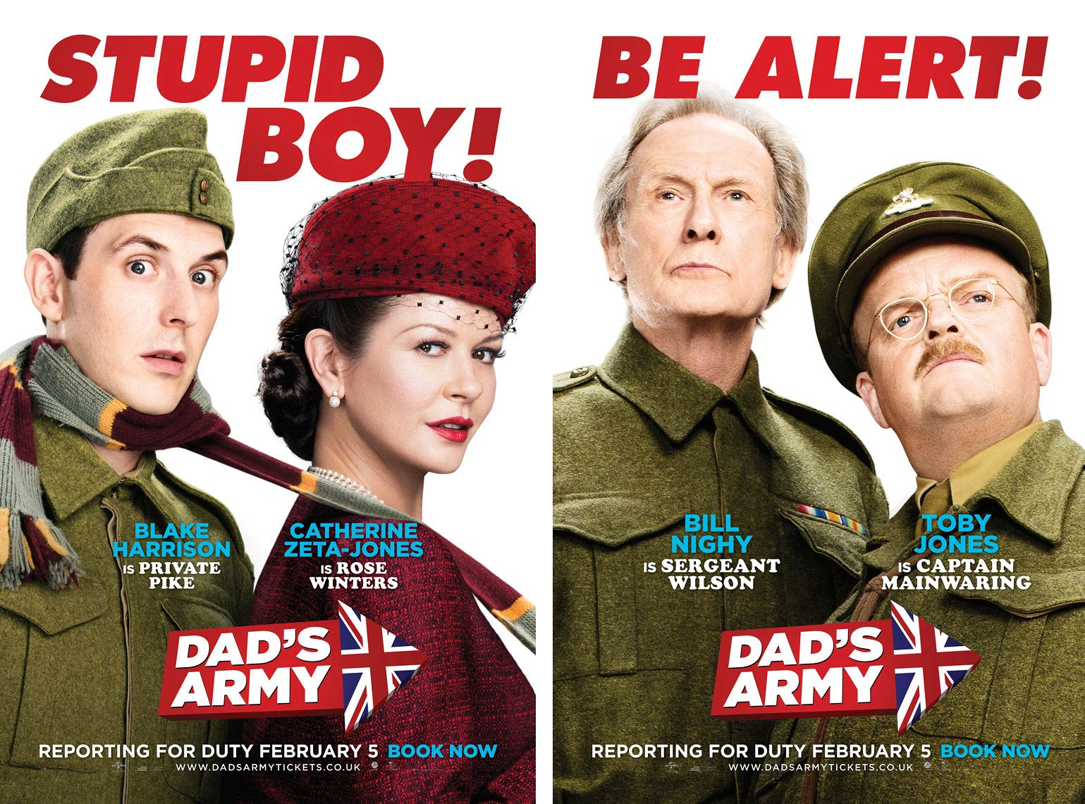 Dads Army film poster key art