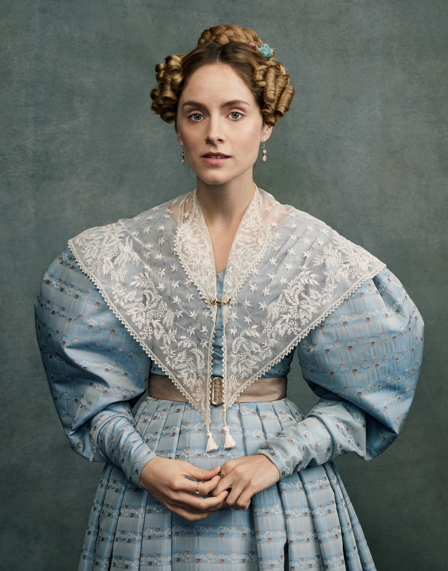 Sophie Rundle in Gentleman Jack photographed for BBC