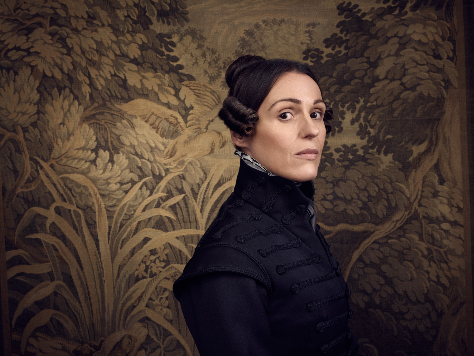Suranne Jones as Gentleman Jack photographed for BBC