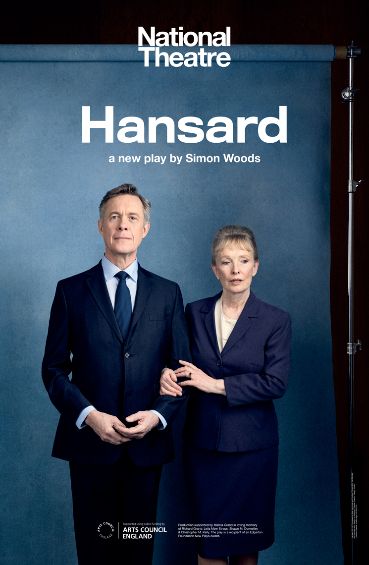 Hansard /  National Theatre poster key art