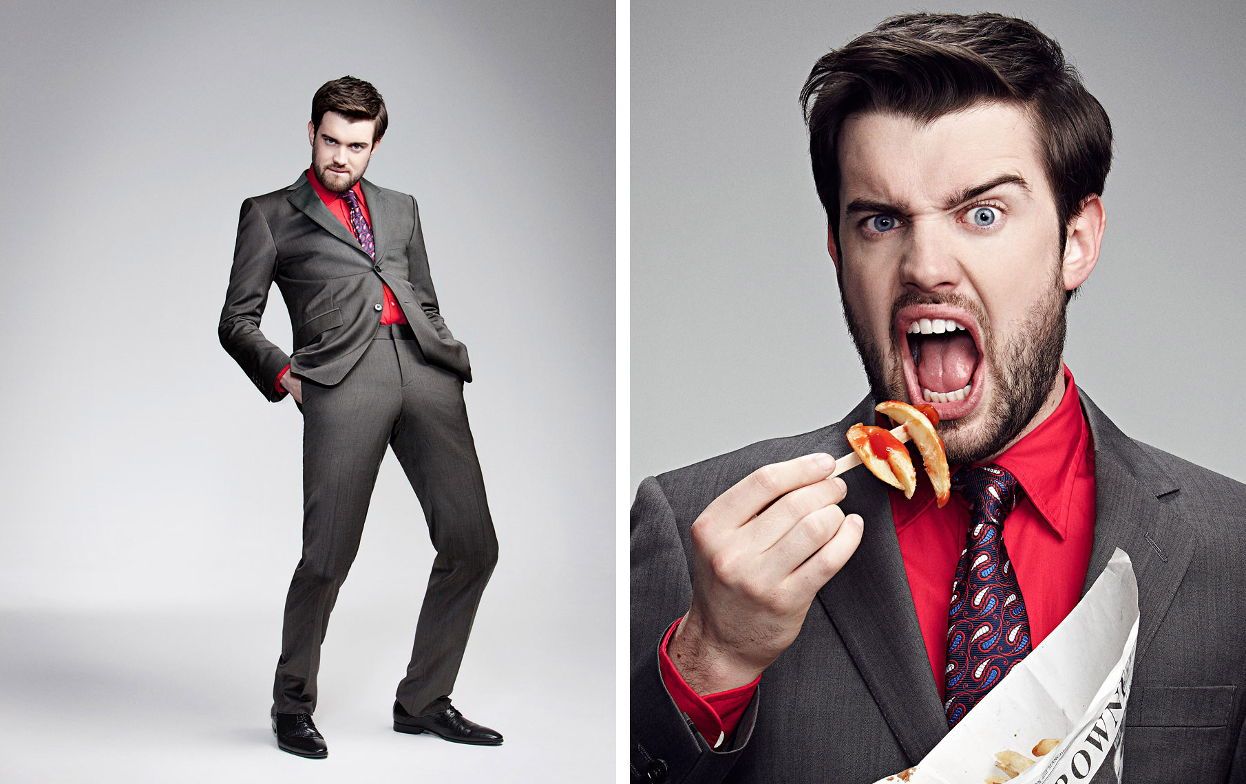 Jack Whitehall Celebrity  Portrait Music Advertising Theatre Poster Old Vic BAFTA Trafalgar Photographer