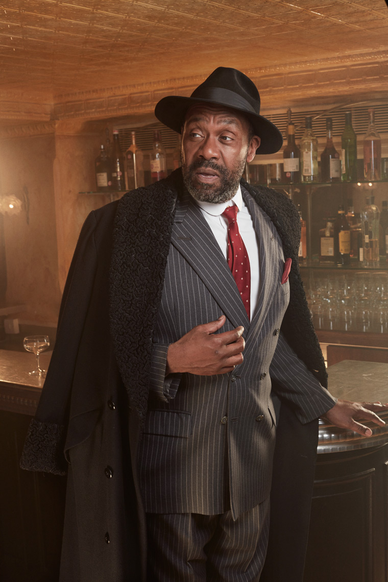 Lenny Henry  photographed for Donmar Warehouse
