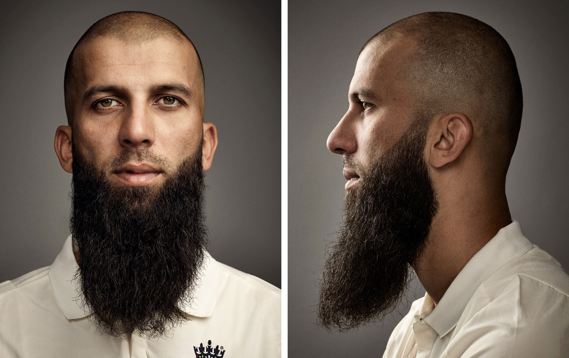 Cricketer Moeen Ali photographed for Times Magazine