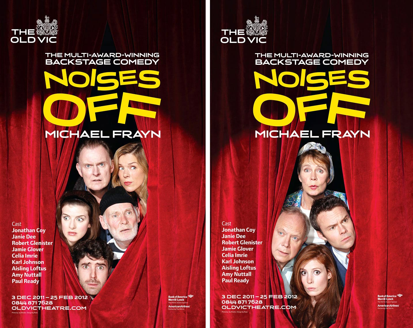 The Old Vic Theatre London noises off