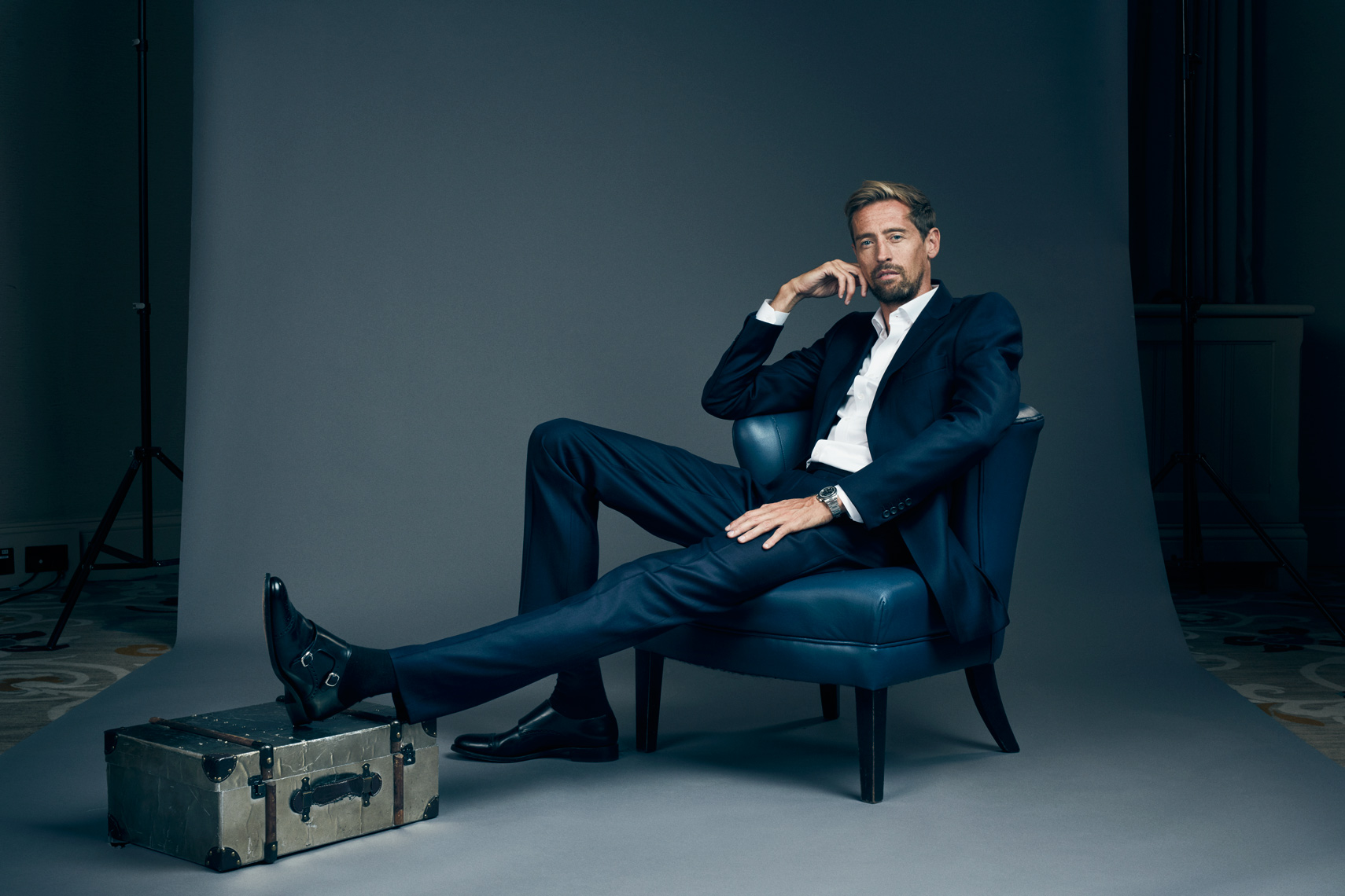 Peter Crouch footballer for Times Magazine