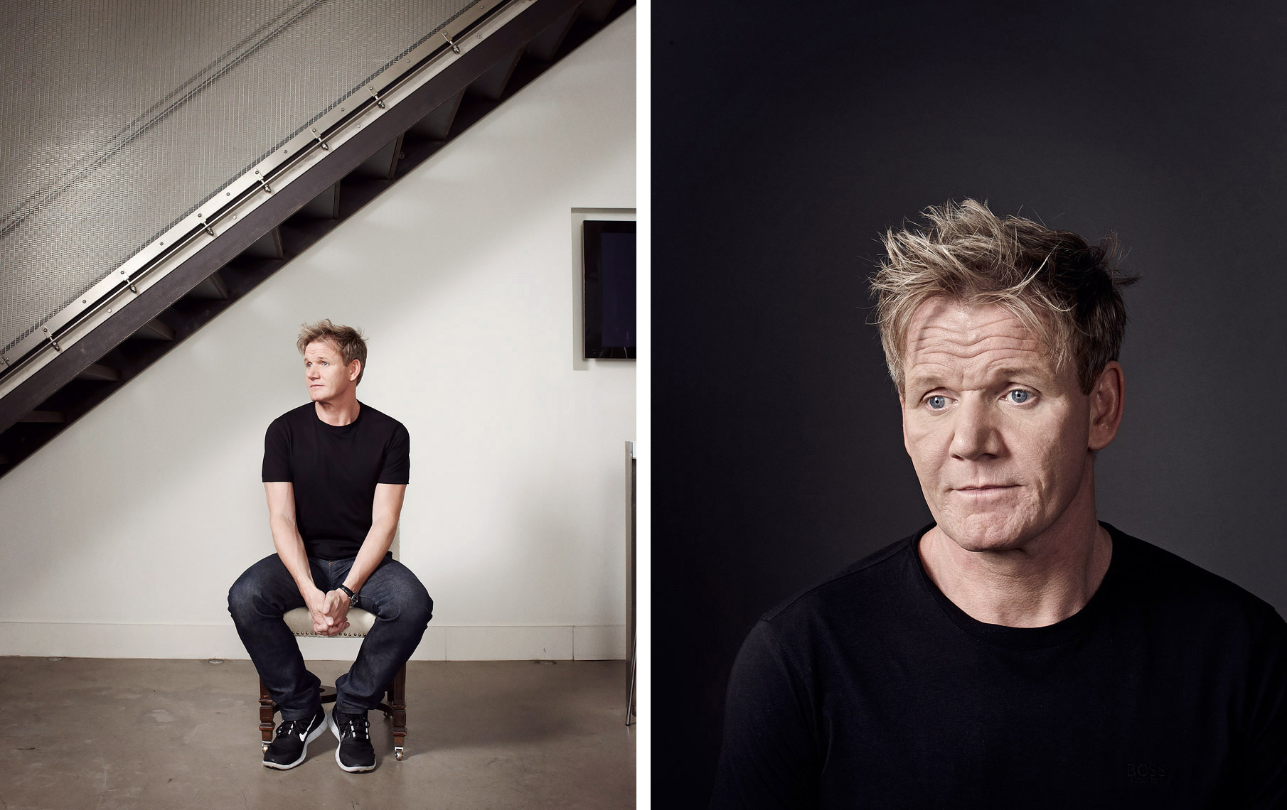 Gordon Ramsey Celebrity  Portrait Music Advertising Theatre Poster Old Vic BAFTA Trafalgar Photographer