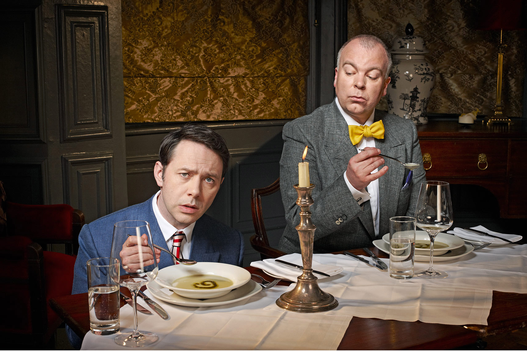 Reece shearsmith steve pemberton   Portrait  for BAFTA