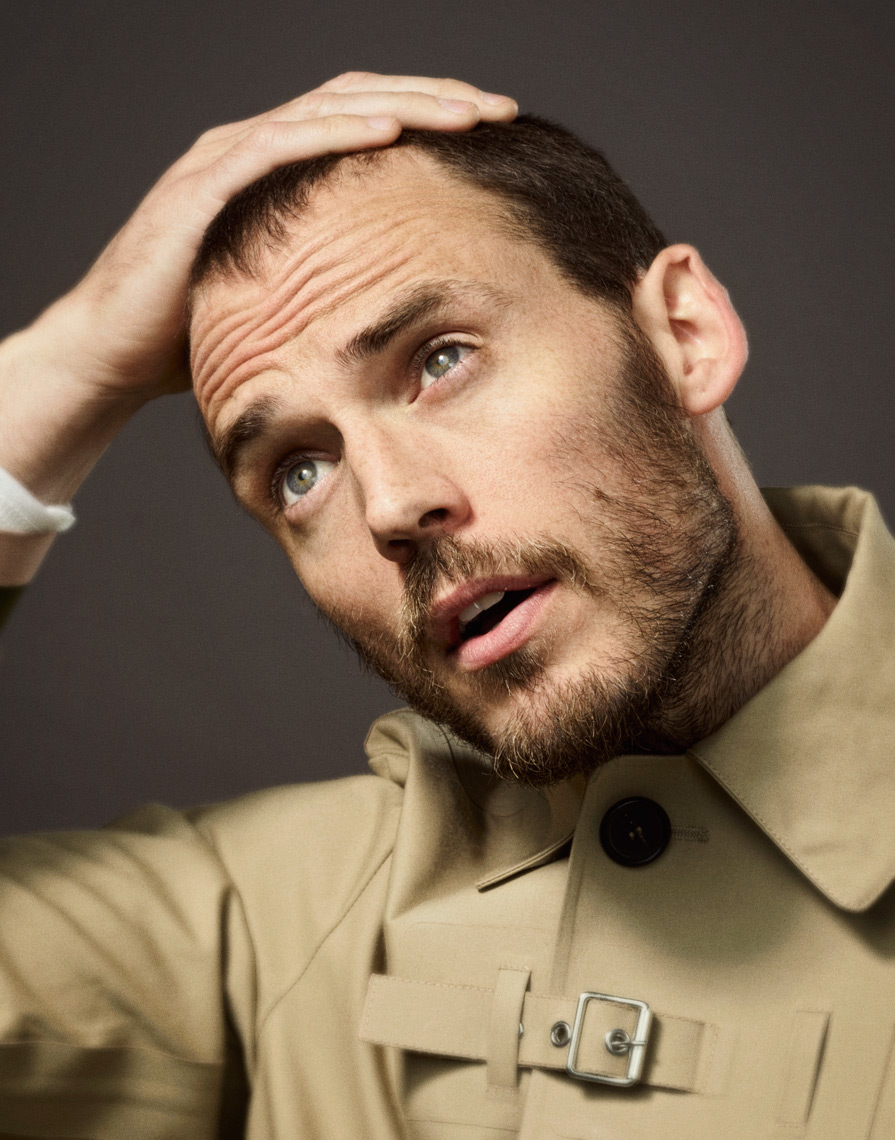 Sam Claflin photographed for Virgin Vera Magazine