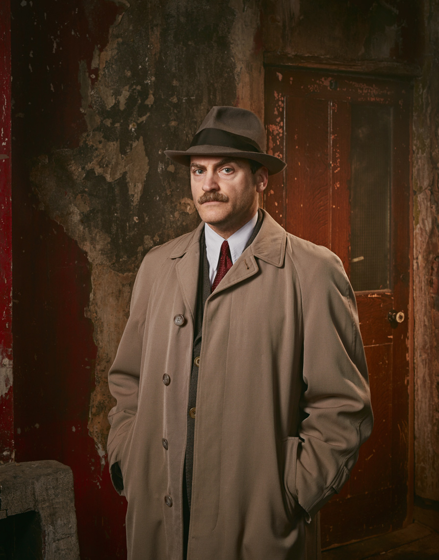 Press publicity portraits Michael Stuhlbarg in Traitors Channel 4