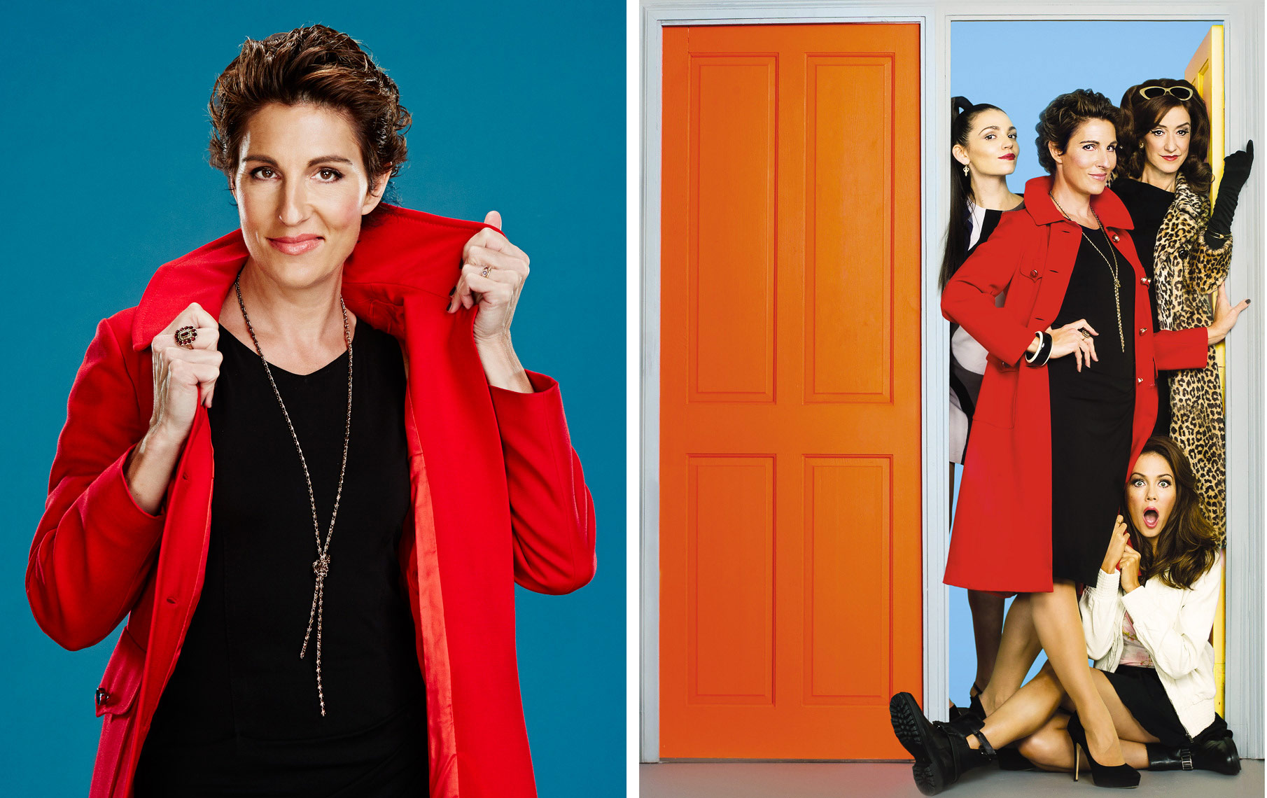 Tamsin Greig  Women On The Verge Poster Photographer Celebrity  Portrait Music Advertising Theatre Old Vic BAFTA Trafalgar
