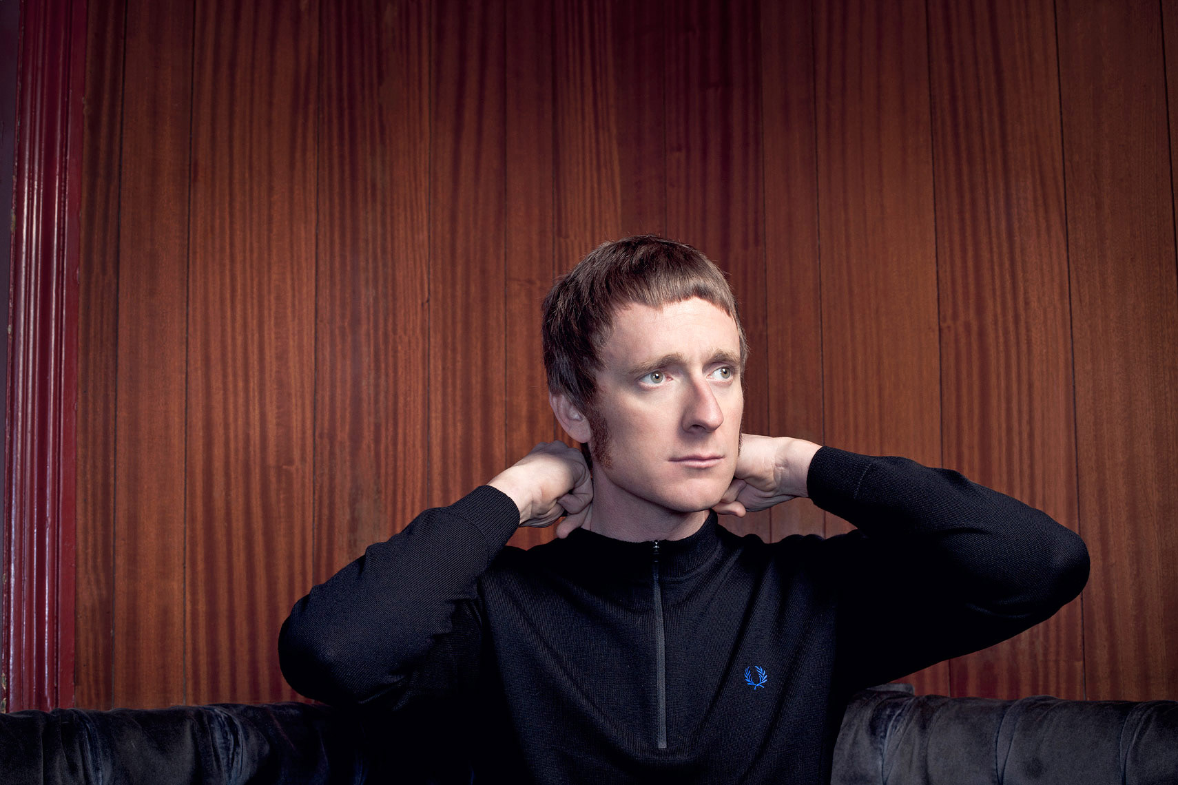 Bradley Wiggins  Portrait Music Advertising Theatre Old Vic BAFTA Trafalgar