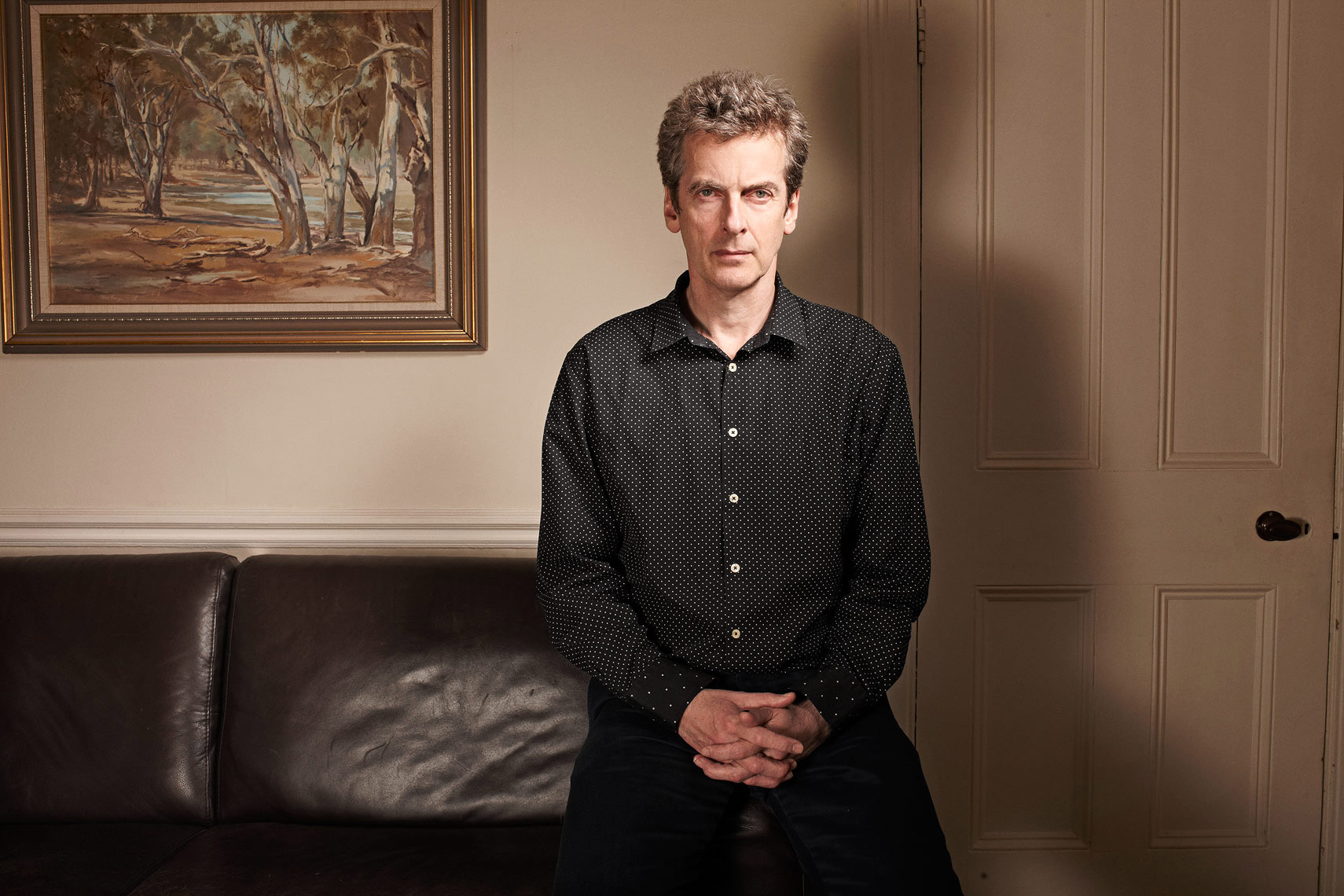 Peter Capaldi Celebrity  Portrait Music Advertising Theatre Poster Old Vic BAFTA Trafalgar Photographer
