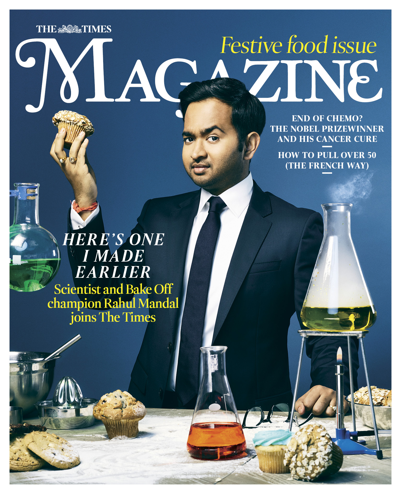 Rahul Mandal / Bake Off times Cover