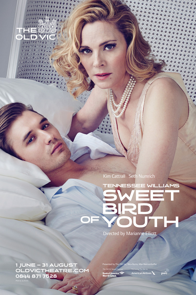 Sweet Bird of Youth / Old Vic Portrait Music Advertising Theatre Old Vic BAFTA Trafalgar Photographer