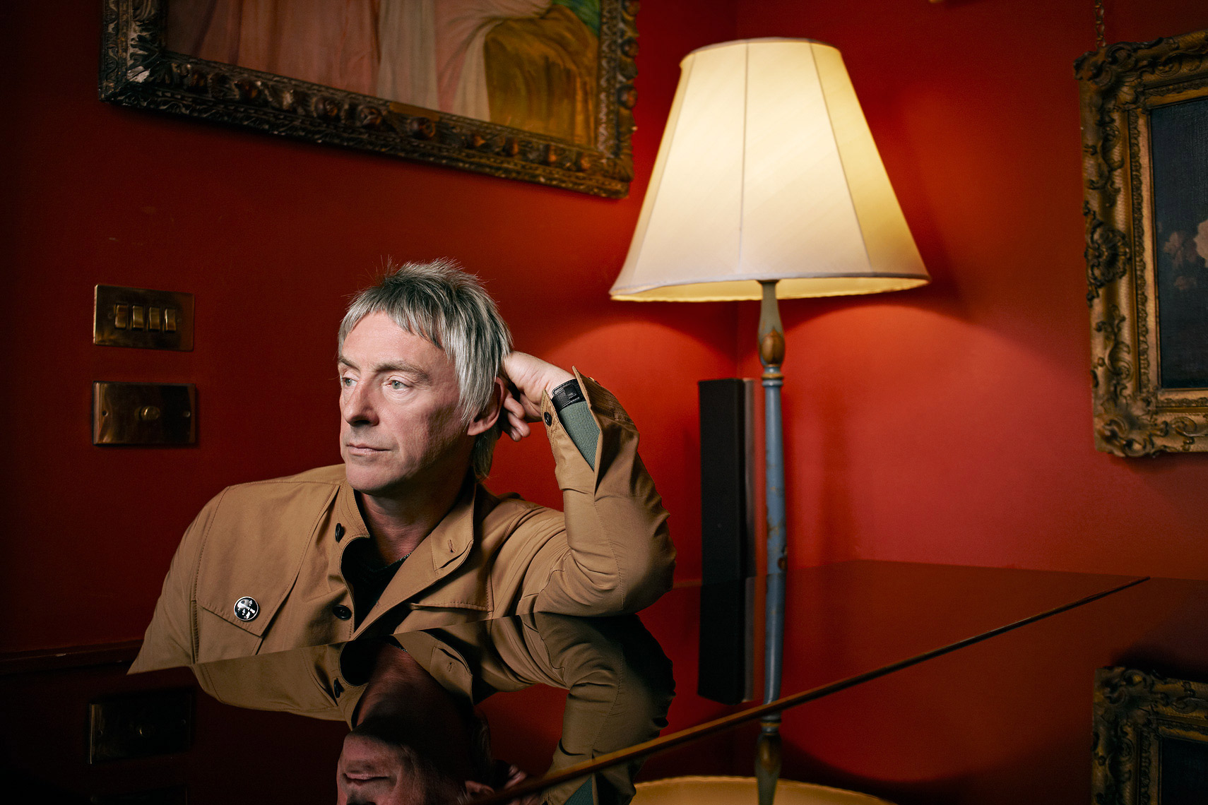 paul weller portrait Clash Magazine